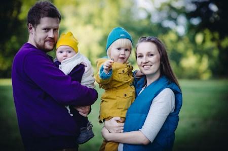 Портрет семьи: Плотниковы