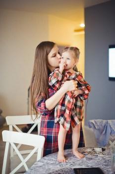 Счастье быть мамой Галя и очаровательная Уля (3)