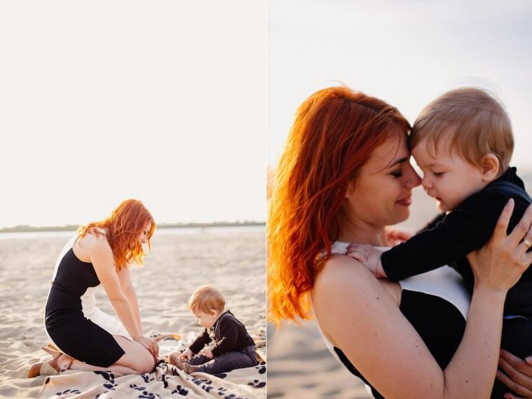 Сердца пяти: семейная съемка на берегу