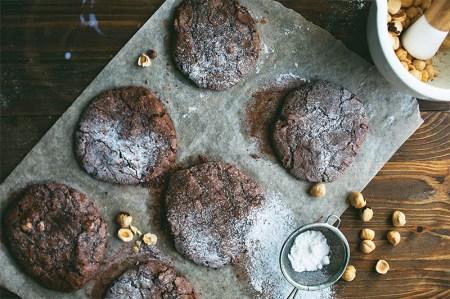 Готовим вместе: шоколадное печенье