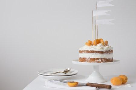 Рецепт безглютенового торта с курагой