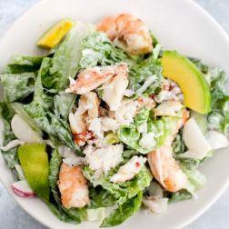 Salat s krevetkami ili kuricey (5)
