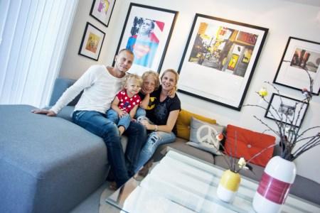 В доме: яркий и современный норвежский интерьер