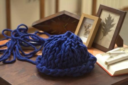 Шапка крупной вязки: мастер-класс по вязанию