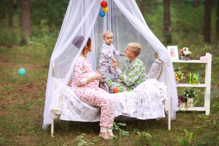 Пижамная вечеринка: Слуцкие в ожидании двойняшек