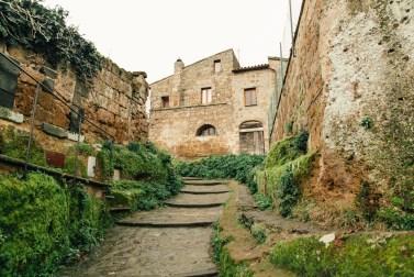 Город-замок Чивита ди Баньореджо в Италии