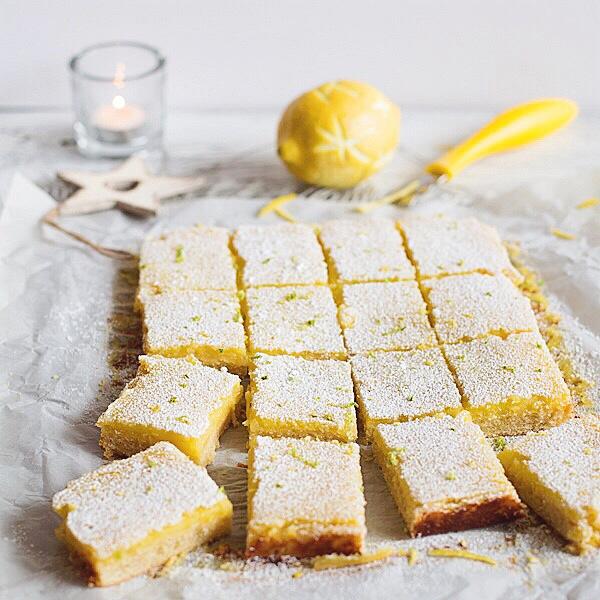 Рецепт лимонного печенья
