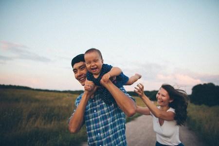 День радости: Адалия и ее родители