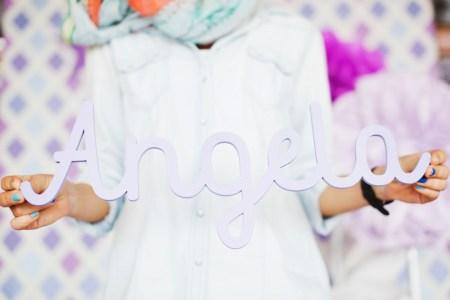 Самый первый день рождения: малышка Анжела