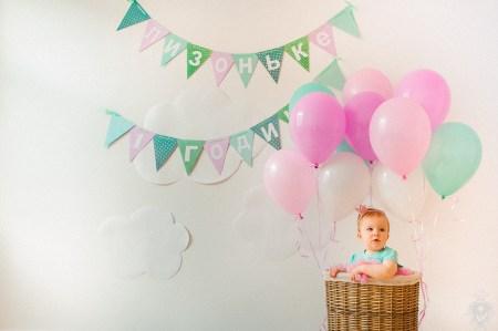 Зефирные облака: день рождения крошки Лизи