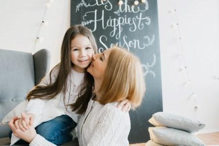 Уютное время: фотоссесия Софии и её мамы