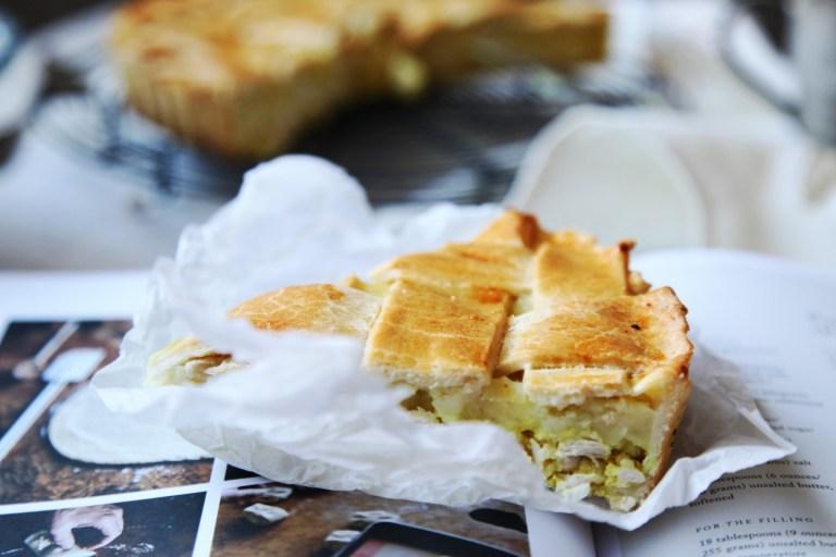 Рецепты для мам: куриный пирог