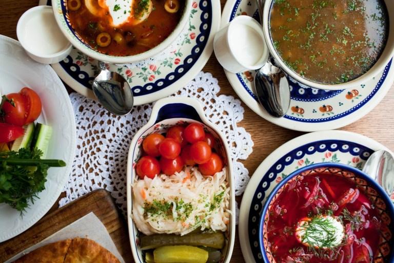 Кухни мира в рецептах: русский колорит