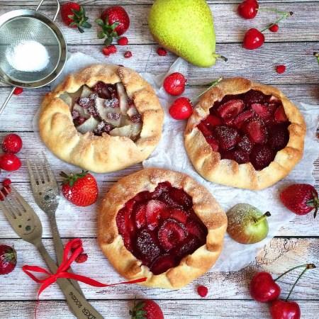Рецепт фруктово-ягодной галеты