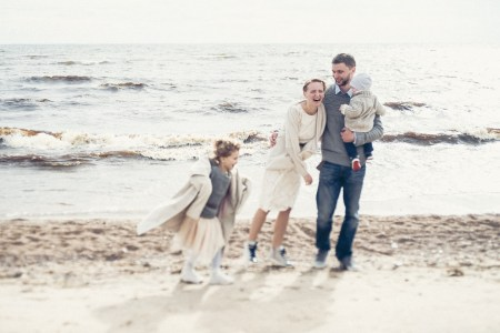 Осень на заливе: семейная фотопрогулка