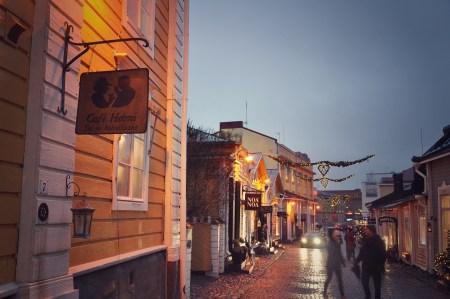 Рождественская сказка: прогулки по Порвоо