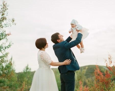 Светлый день венчания: Светлана, Евгений и маленькая Виктория