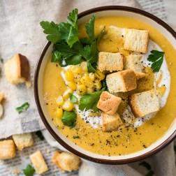 Кукурузный суп-пюре для самых маленьких