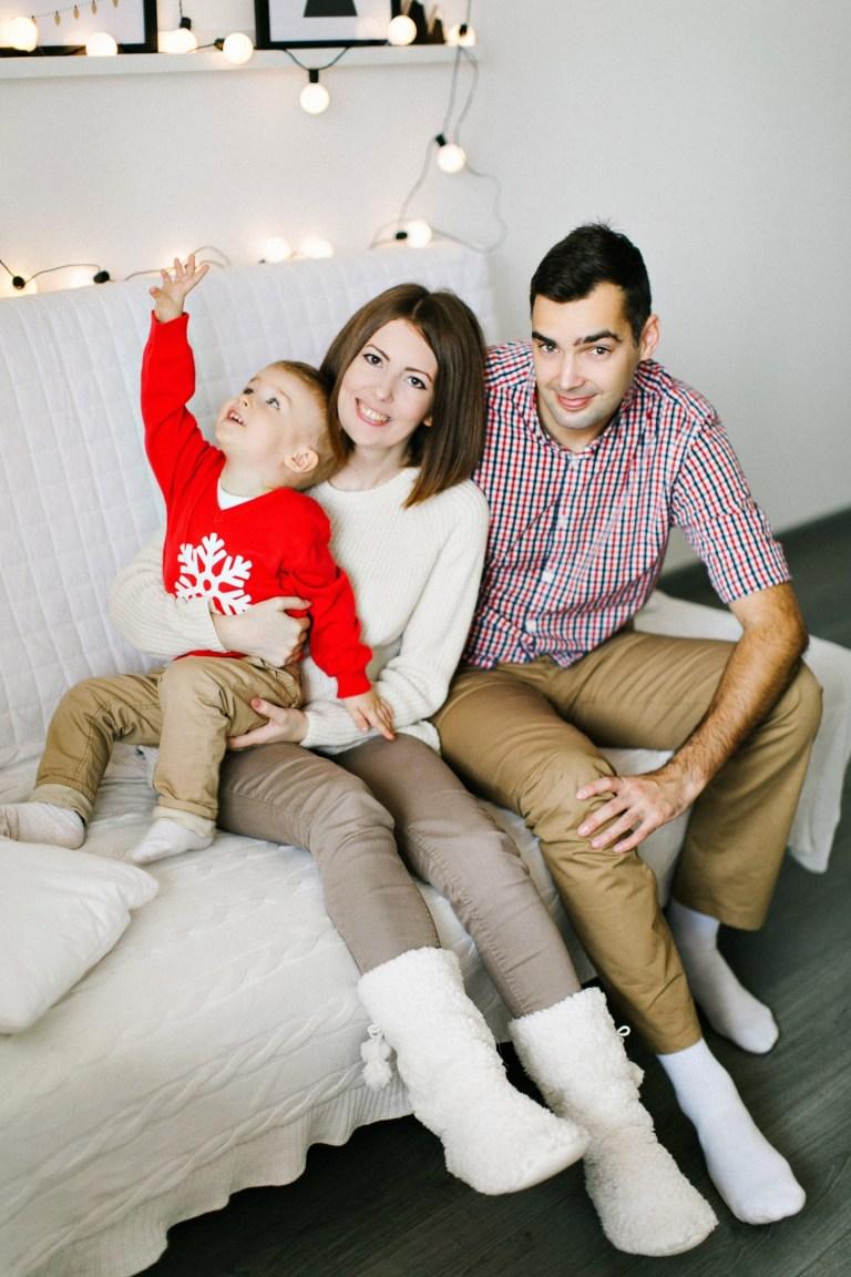 Саша, Оля и маленький Илюша