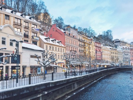 Романтичное путешествие в зимнюю Чехию