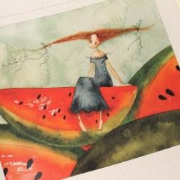 Обзор книги — альбома с акварелями «Тихая Радость»