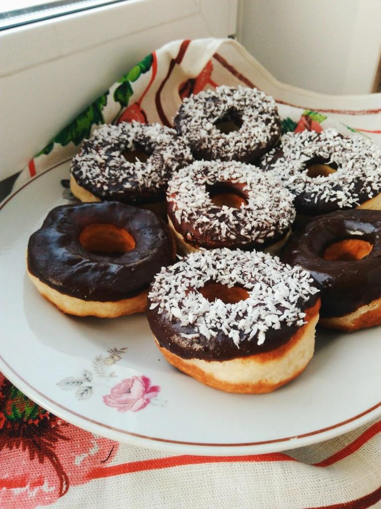 Готовим вместе: ароматные пончики