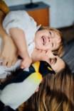 Яна и Лев. Фотосессия мамы и сына