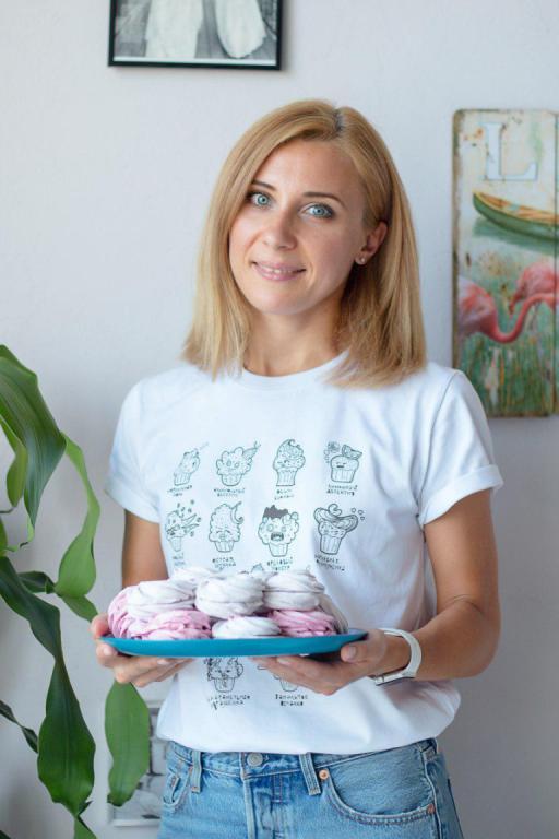 Анастасия Чистякова. Претворяю ваши желания в десерты
