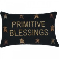 Primitive Blessings Pillow by VHC Brands
