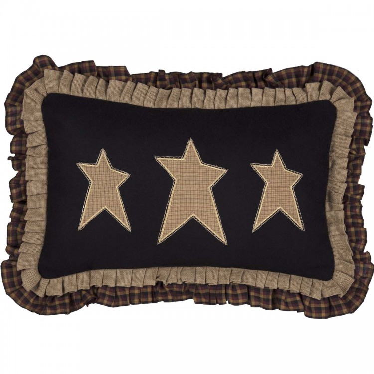 Primitive Stars Pillow by VHC Brands
