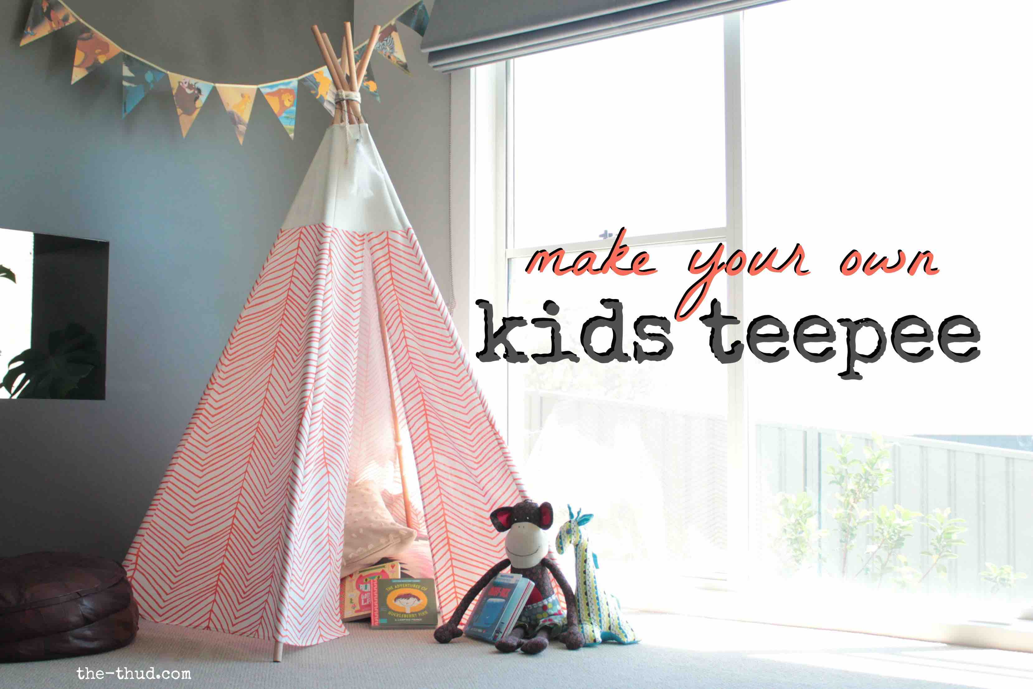 Kids Teepee Australia Diy Kids Teepee The Thud