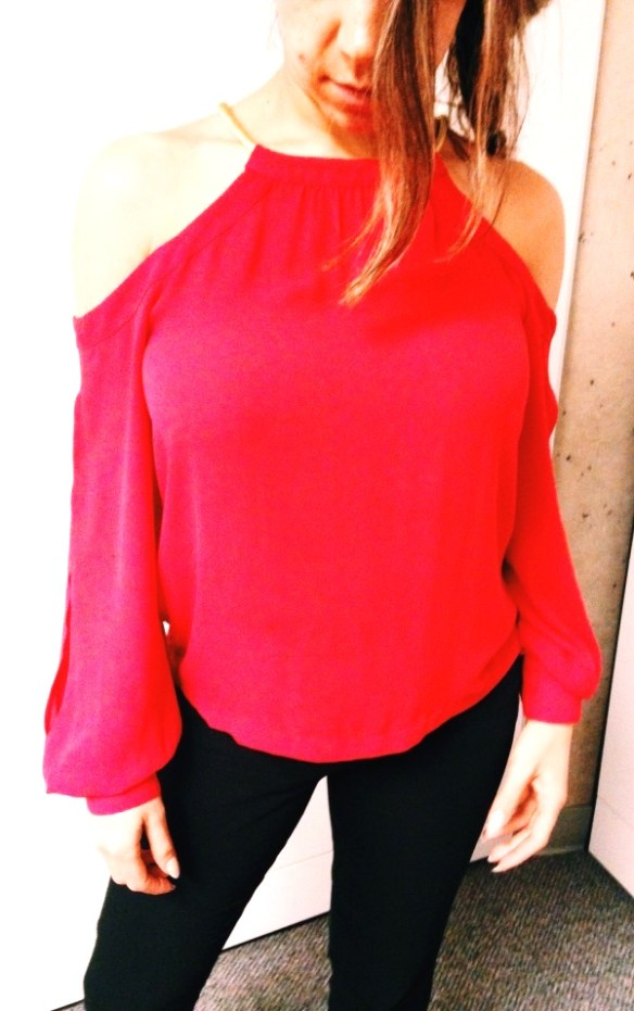 Valentines Day look blouse