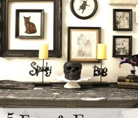 5 Easy & Freaky DIY Halloween Decorations