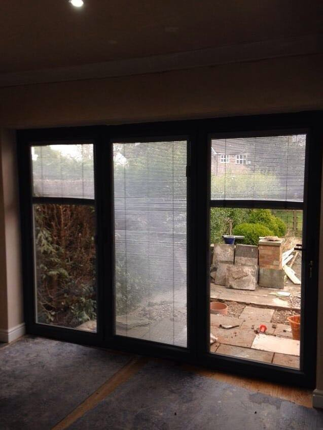Grey Bi Folding with Integral Binds Wilmslow