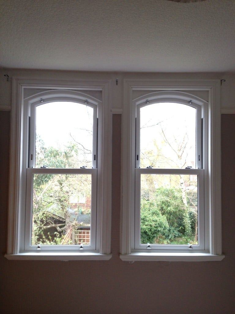 Arched sash upvc windows the window company for The upvc company