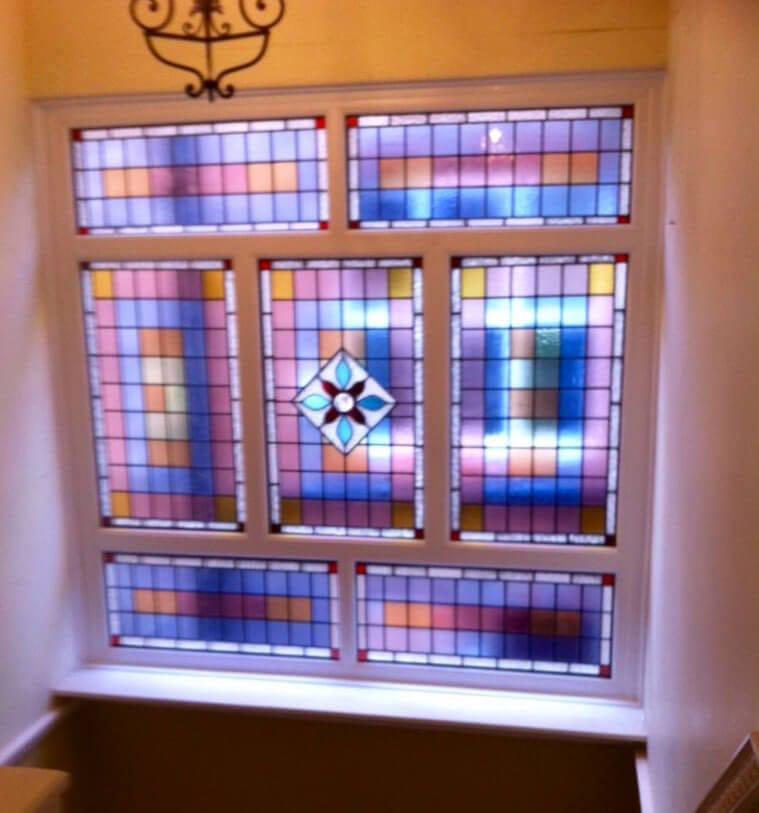 Stained Glass Landing Window Didsbury