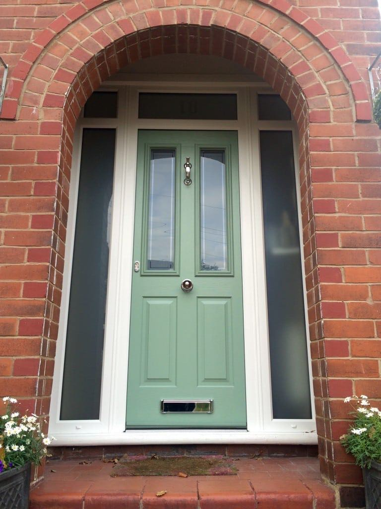 Victorian style solidor in south manchester the window