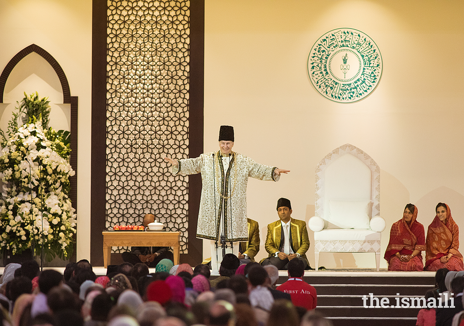 Aga France Mawlana Hazar Imam Grants Darbar To Jamat In The United