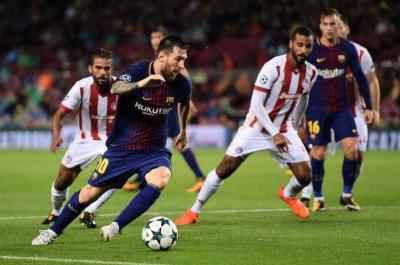 Lionel Messi Scores 100 European Goals