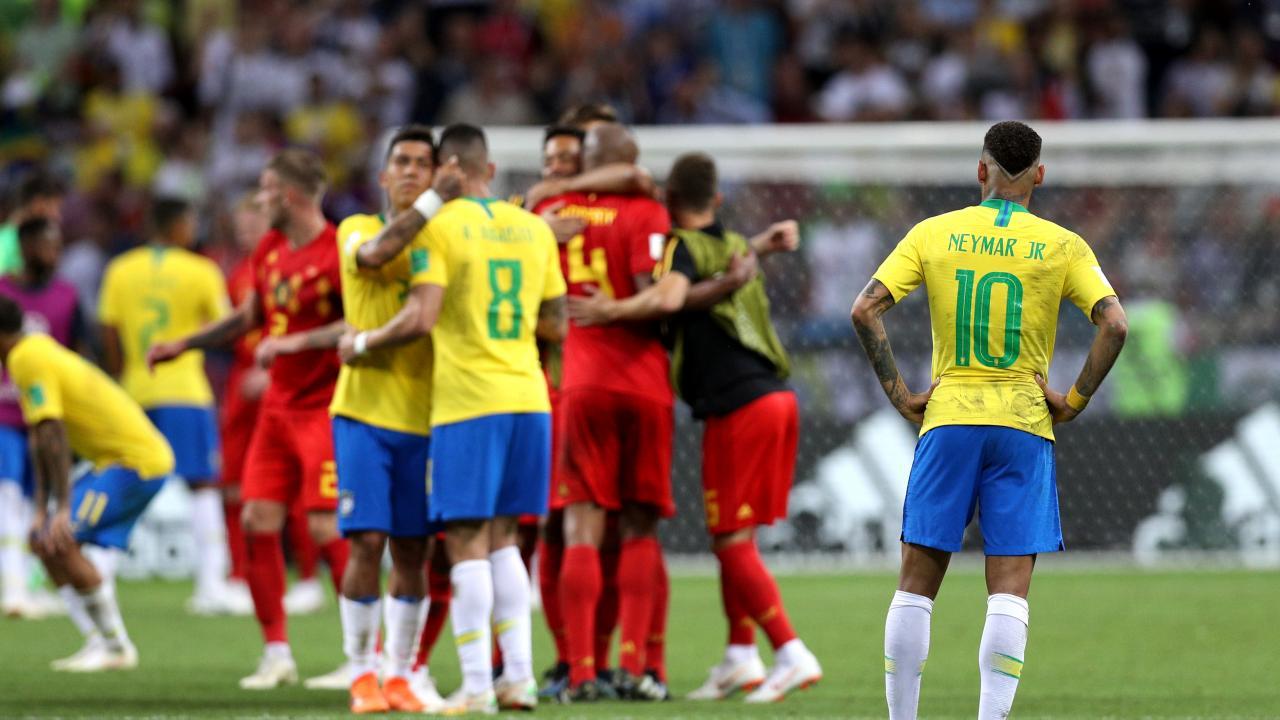Brazil vs Belgium Highlights: Neymar Sent Packing At World Cup