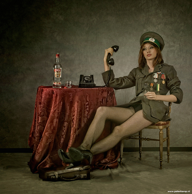 Vintage Pin Up Girl Wallpaper Russian Spy From Peter Kemp Oen
