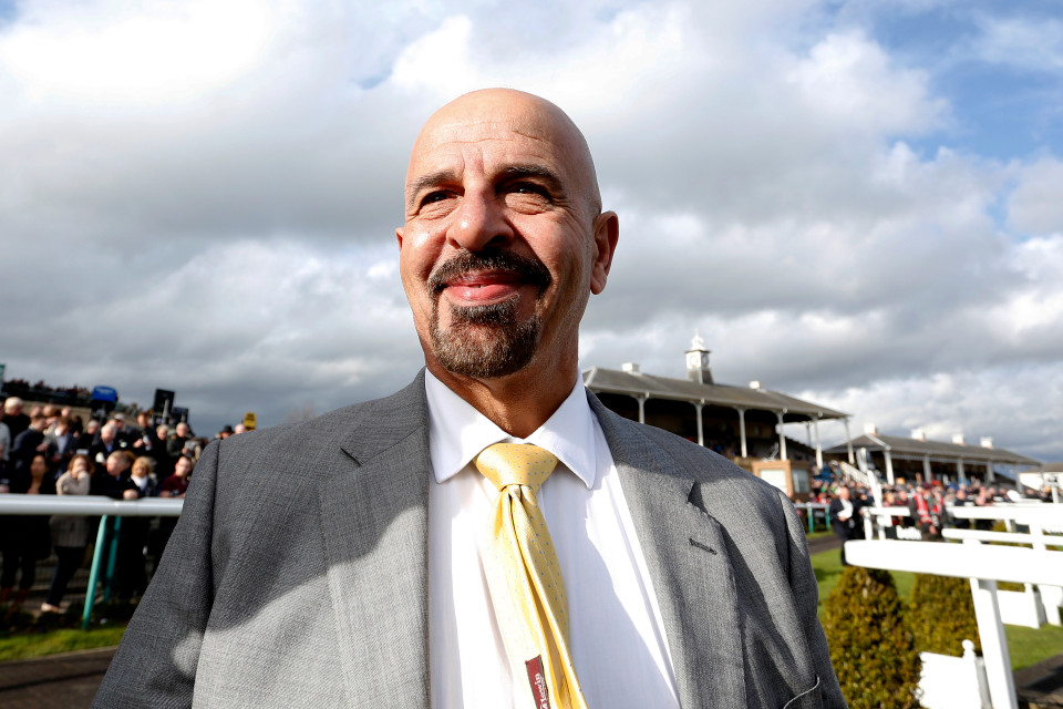 DONCASTER, ENGLAND - MARCH 28: Dr Marwan Koukash poses at Doncaster racecourse on March 28, 2015 in Doncaster, England. (Photo by Alan Crowhurst/Getty Images)