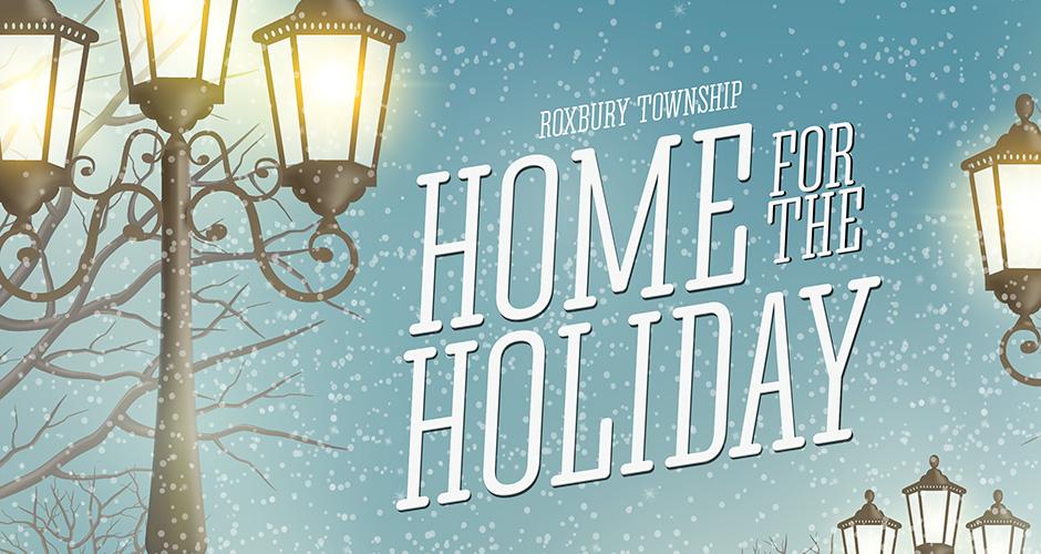 Custom Flyer Design for the Roxbury Holiday Event