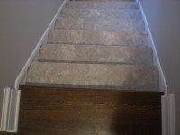 Installing Vinyl Tile Flooring On Stairs | TheFloors.Co