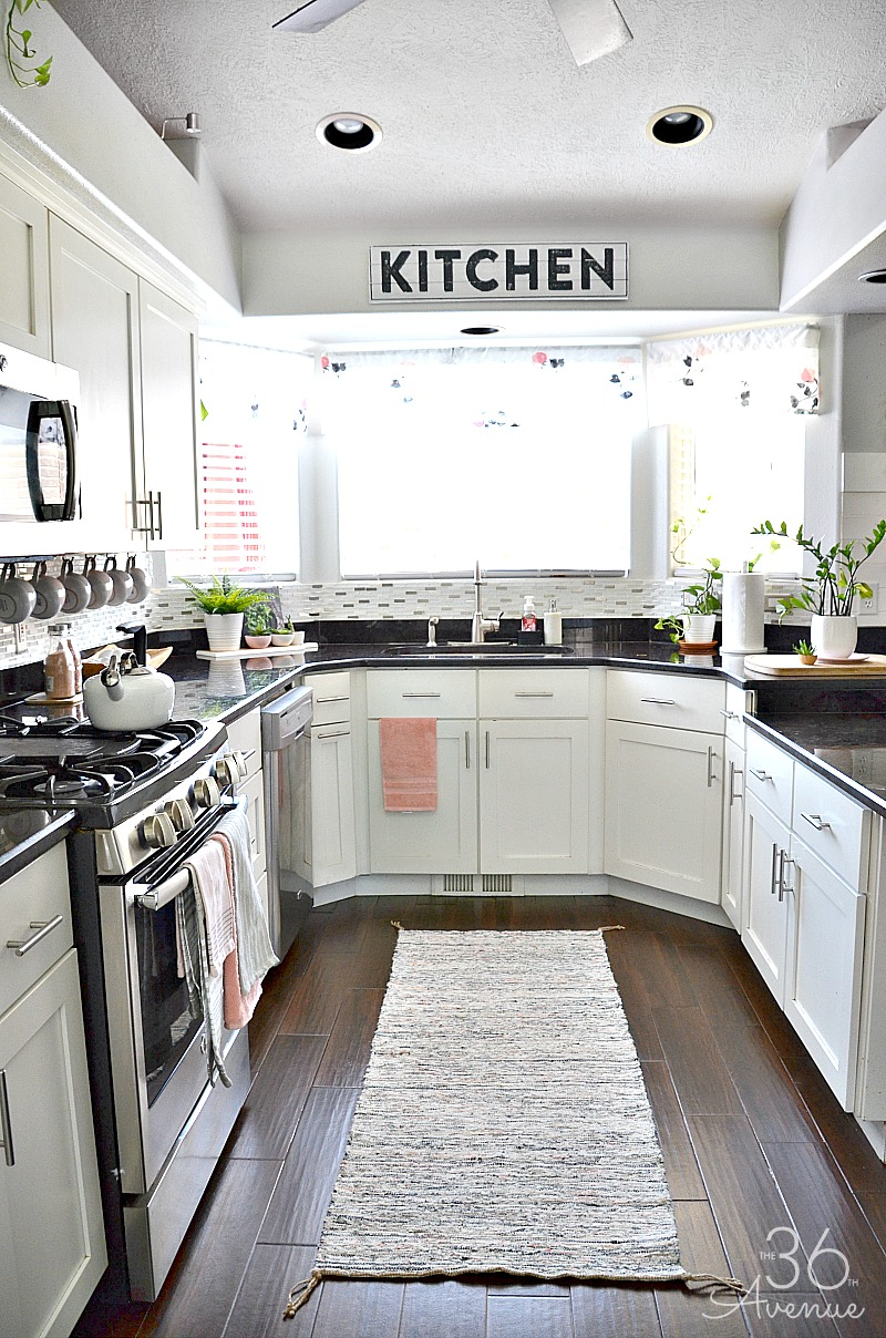 Kitchen Decor White Kitchen Pink Kitchen Decor The 36th Avenue