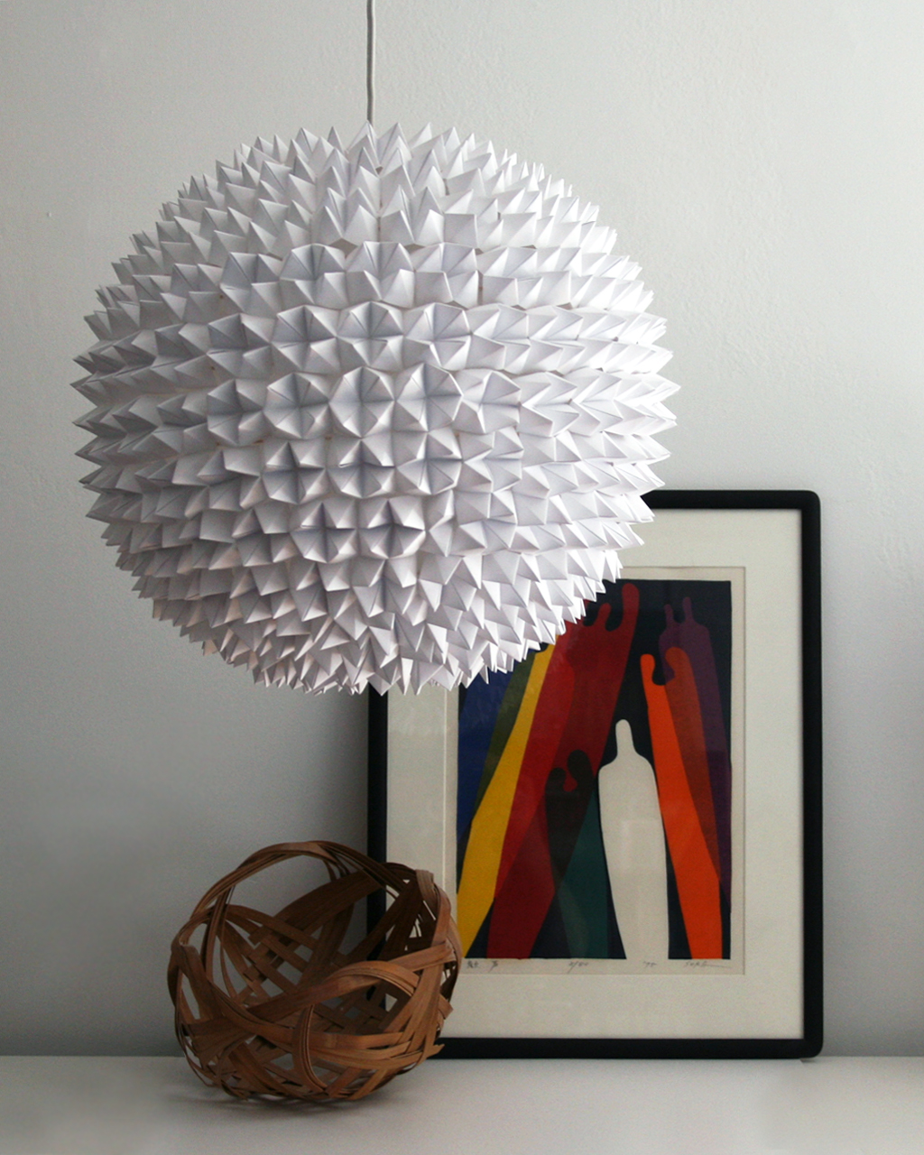 Bastelideen Faceted Pendant Lights The Large Sphere The 3 R 39s Blog