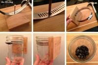 Hanging Mason Jar Planter | the 3 R's blog