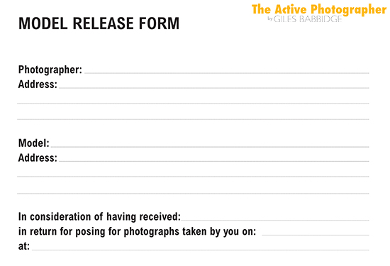 Episode #212 The Photography Model Release Form  The Active