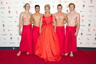 Sidonie Henbest and her troupe