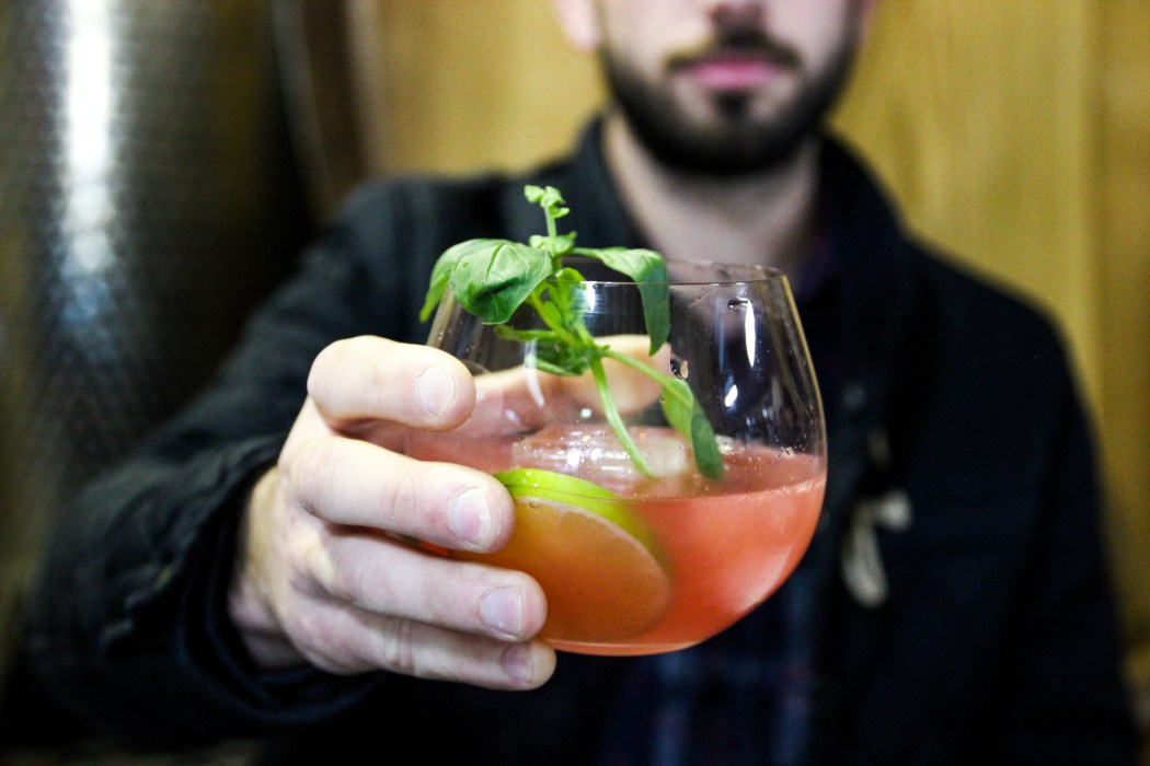 Watermelon and Basil Punch